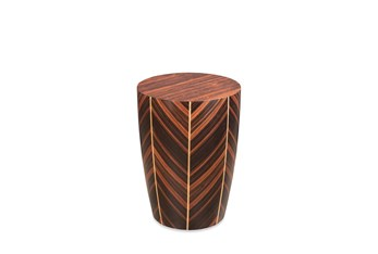 Natural Ebony + Maple Accent Table