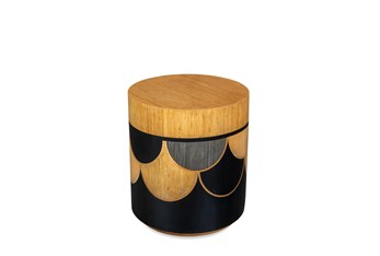 Scallop Accent Table