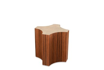 Spade Rosewood Accent Table