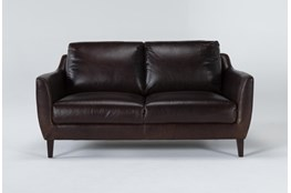 "Gigi II Leather 65"" Loveseat"