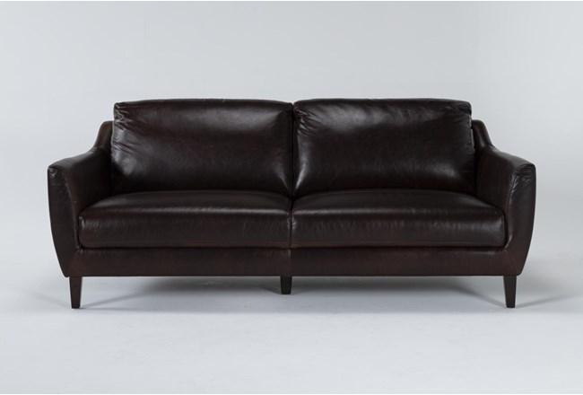 """Gigi II Leather 81"""" Sofa - 360"""