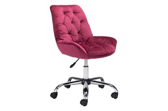 Loft Desk Chair Red