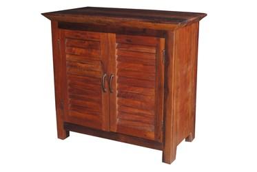 Dark Brown 2 Door Cabinet