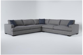 "Joy 3 Piece 123"" Sectional"