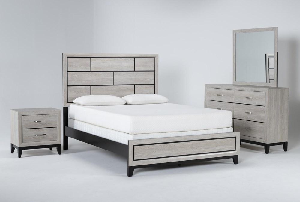 Finley White Full 4 Piece Bedroom Set