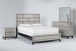 Finley White Queen 4 Piece Bedroom Set