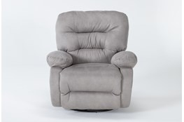 Decker III Fabric Swivel Glider Recliner
