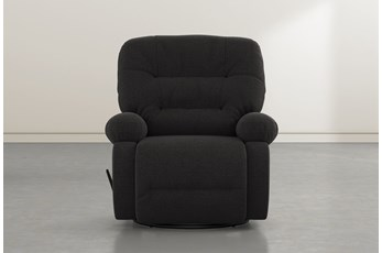 Decker III Flint Swivel Glider Recliner