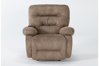 Decker III Fabric Power Rocker Recliner