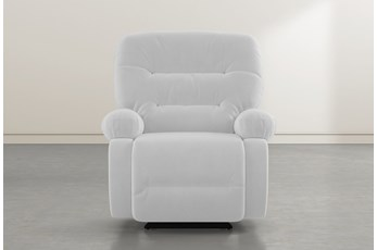 Decker III Grey Power Rocker Recliner