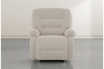 Decker III Taupe Power Rocker Recliner