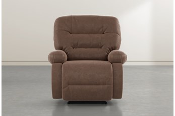 Decker III Brown Power Rocker Recliner