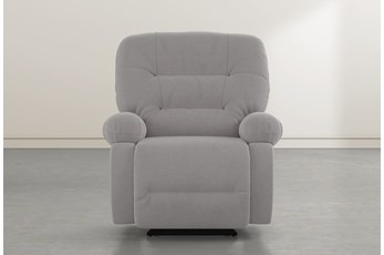 Decker III Ash Power Rocker Recliner