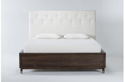 Brighton Queen Upholstered Platform Bed By Nate Berkus And Jeremiah Brent