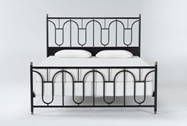 Palais Queen Metal Bed By Nate Berkus And Jeremiah Brent