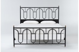 Palais California King Metal Bed By Nate Berkus And Jeremiah Brent