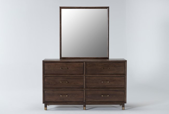 Brighton Dresser/Mirror By Nate Berkus And Jeremiah Brent - 360