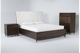 Brighton Queen 3 Piece Bedroom Set By Nate Berkus And Jeremiah Brent