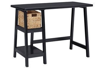 "Darby Black 42"" Desk"
