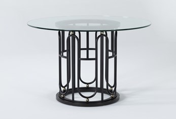 Palais Round Dining Table By Nate Berkus and Jeremiah Brent