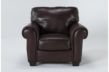 Bacchus Leather Accent Chair