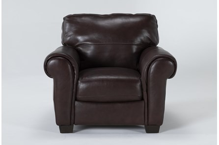 Bacchus Leather Accent Chair - Main