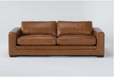 """Mason Leather 89"""" Sofa"""