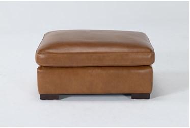 Mason Leather Ottoman