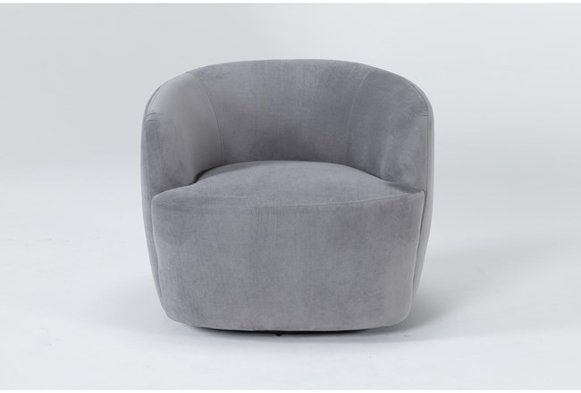 Abby Swivel Accent Chair - 360
