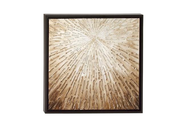 Dark Brown Framed Canvas Wall Art  - 360