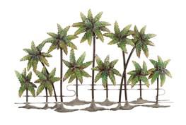 Metal Palm Tree Wall Decor