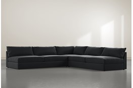 "Marcel 3 Piece 122"" Sectional By Nate Berkus And Jeremiah Brent"