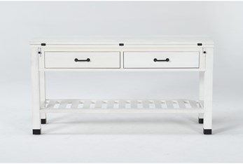 Wade Flip-Top Console Table