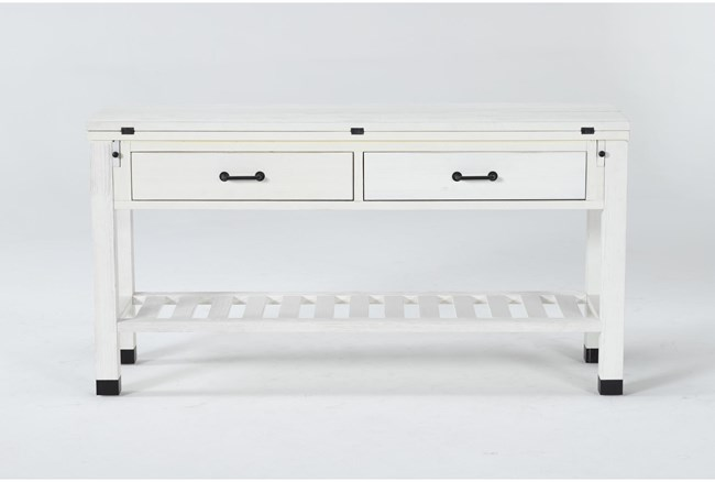 Wade Flip-Top Console Table - 360
