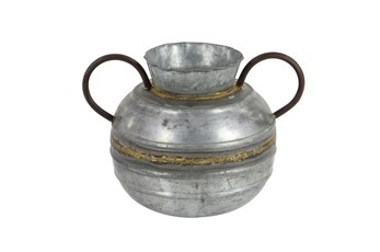 Metal Urn With Handles