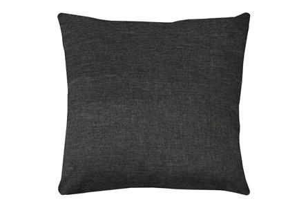 20X20 Jitterbug Gray Linen Throw Pillow - Main