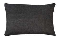 14X20 Jitterbug Gray Linen Throw Pillow