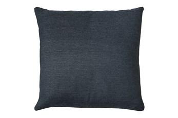 24X24 Zander Indigo Blue Throw Pillow