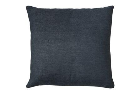 24X24 Zander Indigo Blue Throw Pillow - Main