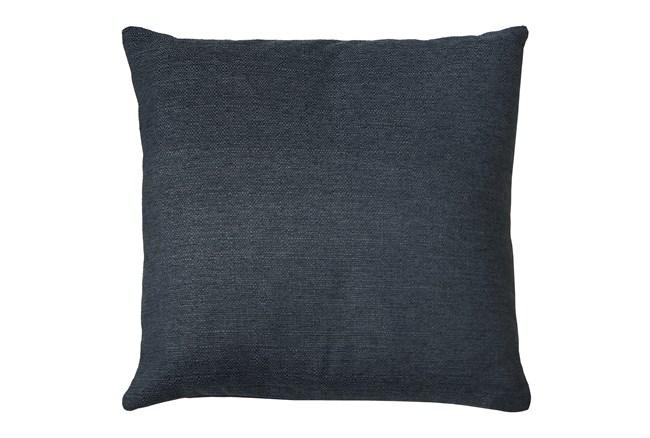 20X20 Zander Indigo Blue Throw Pillow - 360