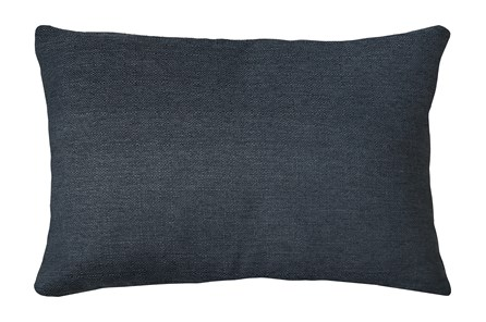 14X20 Zander Indigo Blue Throw Pillow - Main