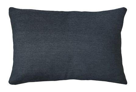 14X20 Zander Indigo Blue Throw Pillow - Main