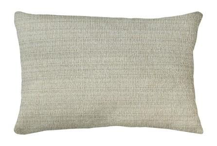 14X20 Macintosh Cotton White Multi Throw Pillow - Main
