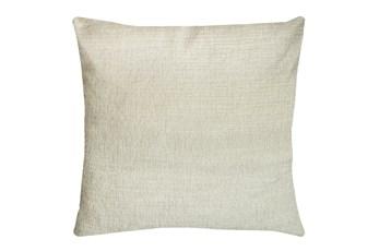 24X24 Preference Cream White Throw Pillow