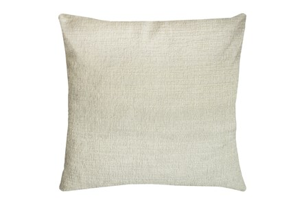 24X24 Preference Cream White Throw Pillow - Main