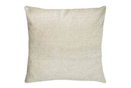 24X24 Preference Cream White Throw Pillow - Main