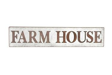 Brown Metal Farmhouse Wall Decor