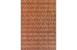 """5'1""""x7' Outdoor Rug-Sunset Distressed Damask"""