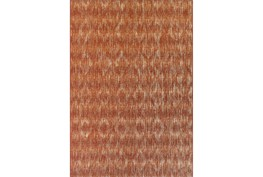 """8'2""""x10' Outdoor Rug-Sunset Distressed Damask"""