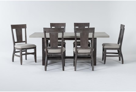 Anders 7 Piece Rectangle Dining Set - Main